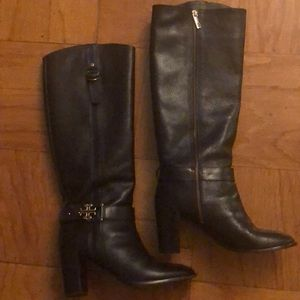 Tory Burch Women's Leather Tall Boots